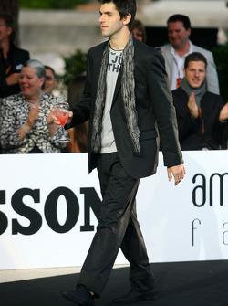 Amber Lounge Fashion Show, Jaime Alguersuari, Scuderia Toro Rosso