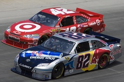 Scott Speed, Red Bull Racing Team Toyota and Juan Pablo Montoya, Earnhardt Ganassi Racing Chevrolet