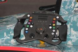 Steering Wheel for Dan Wheldon, Panther Racing