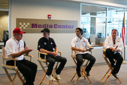 Target Chip Ganassi press conference