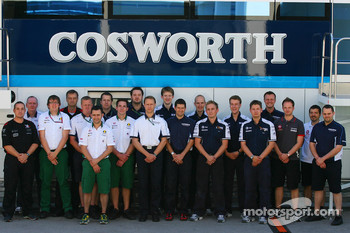 The Cosworth Engineering Team