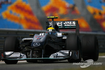 Nico Rosberg: Who knows what's going to happen with the tyres