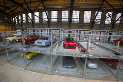 Cars in their private storage box