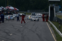 #10 SunTrust Racing Ford Dallara: Max Angelelli, Ricky Taylor leads the field back to Pit Lane
