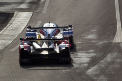 奥迪乔斯特车队7号奥迪R15+:汤姆·克里斯滕森、雷昂纳多·卡佩罗、阿兰·麦克尼什