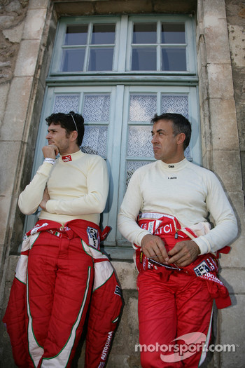 Giancarlo Fisichella and Jean Alesi