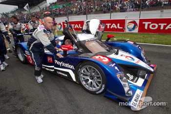 #3 Peugeot Sport Total Peugeot 908 on starting grid