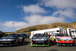 Cars at technical inspection