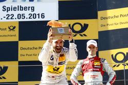 Podium: Race winner Timo Glock, BMW Team RMG, BMW M4 DTM