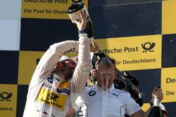 Podium: Timo Glock, BMW Team RMG, BMW M4 DTM and Stefan Reinhold, BMW Team RMG