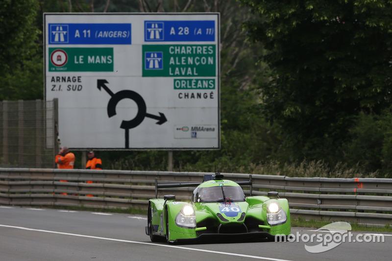 22. LMP2: #40 Krohn Racing, Ligier JS P2 - Nissan