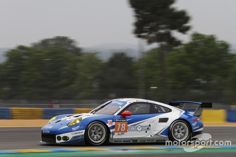 7. LMGTE-Am: #78 KCMG, Porsche 911 RSR