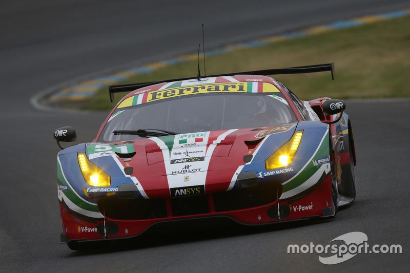 LMGTE Pro: #51 AF Corse, Ferrari 488 GTE