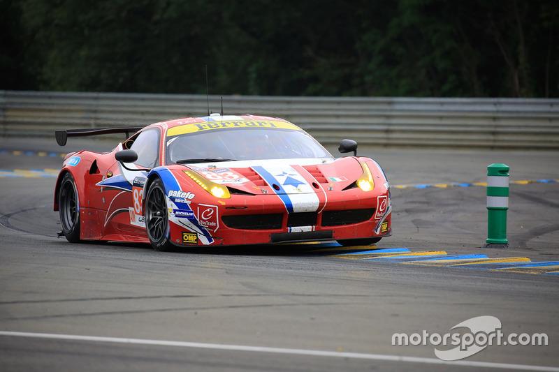 LMGTE Am: #83 AF Corse,Ferrari 458 Italia