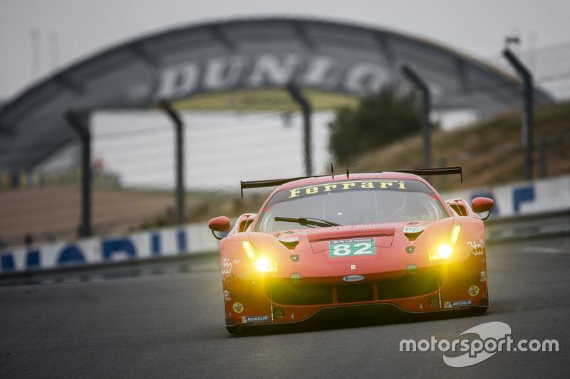 7. LMGTE-Pro: #82 Risi Competizione, Ferrari 488 GTE