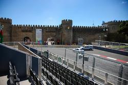 Baku City Circuit at turn 11