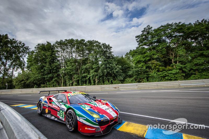 3. LMGTE-Pro: #51 AF Corse, Ferrari 488 GTE