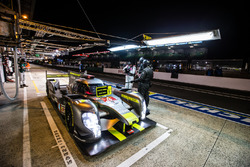 Pit stop for #4 ByKolles Racing CLM P1/01: Simon Trummer, Pierre Kaffer, Oliver Webb