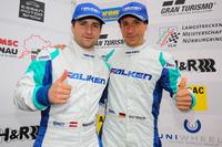 VLN Photos - #4 Team Falken, Porsche 911 GT3-R: Wolf Henzler, Martin Ragginger