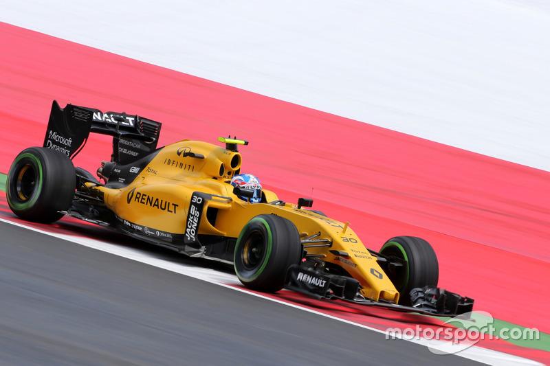 20: Джоліон Палмер, Renault Sport F1 Team (покарання - три місця на стартовій решітці)