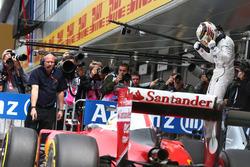 Pole Position for Lewis Hamilton, Mercedes AMG F1 W07