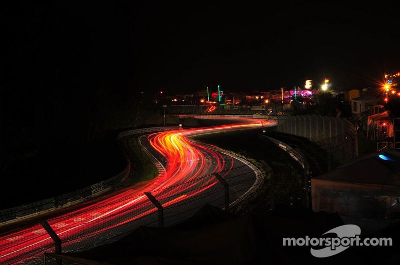 Hatzenbach at night, 24H Nürburgring 2010