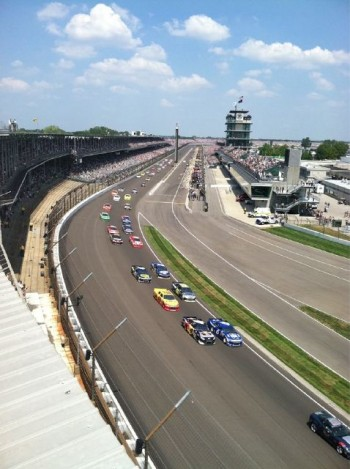 Brickyard 400 Start