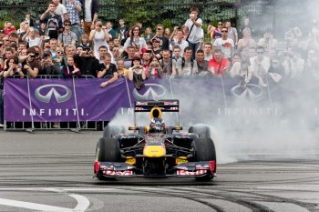 RedBull Showcar Run - Ukraine