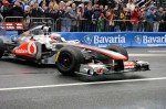 F1 driver Jenson Button - McLaren Mercedes team