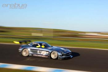 Erebus Motorsports AMG SLS Mercedes