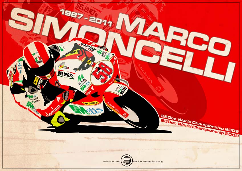 Marco Simoncelli - 250cc 2009