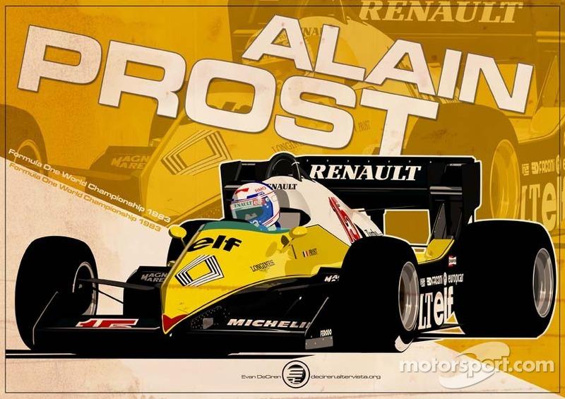 Alain Prost - F1 1983