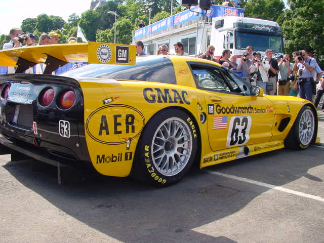 63 Corvette Racing Gary Pratt	Corvette C5-R R Fellows - J O'Connell - S Pruett