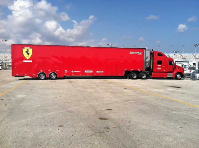 The Auto Gallery Motorsports Team Hauler