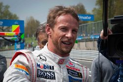 Jenson Button tries his luck at DTM