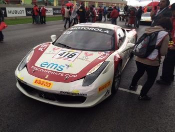 On the grid at Mugello with EMS CEO James Weiland