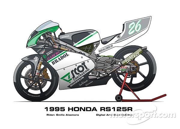 Honda RS125R - 1995 Emilio Alzamora