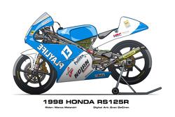 Honda RS125R - 1998 Marco Melandri