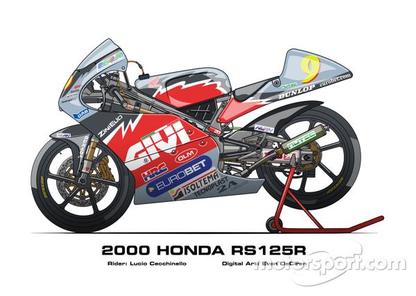 Honda RS125R - 2000 Lucio Cecchinello