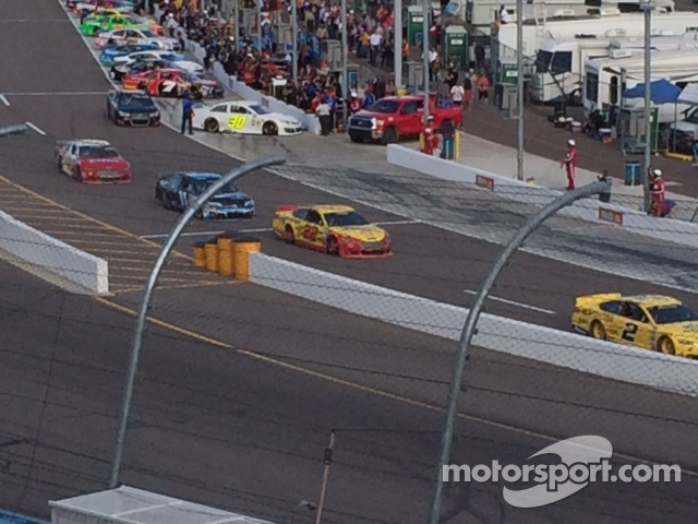 Sprint Cup Qualifying Cattle Rush