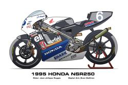 Honda NSR250 - 1995 Jean Philippe Ruggia