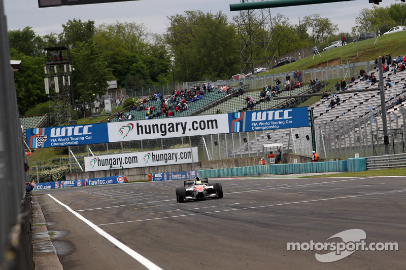 Kimiya Sato win at Hungaroring
