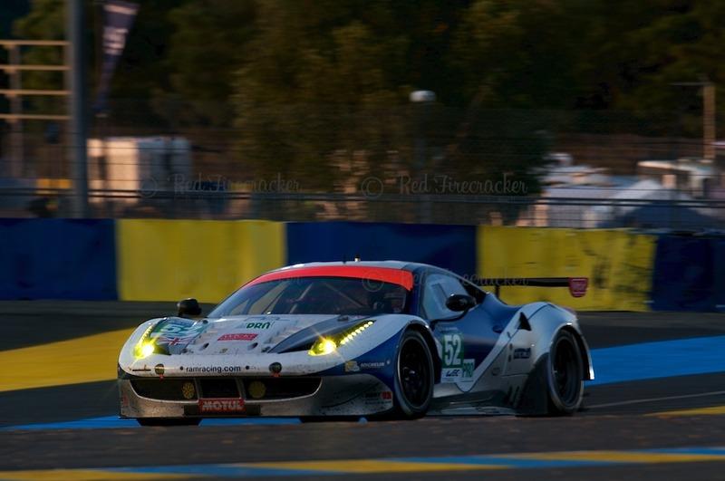No 52 RAM Racing Ferrari 458 Italia LM GTE PRO
