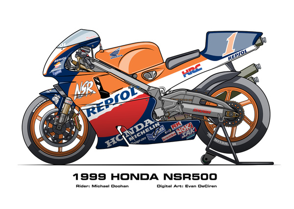 Honda NSR500 - 1999 Michael Doohan