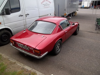 Lotus Elan in the paddock