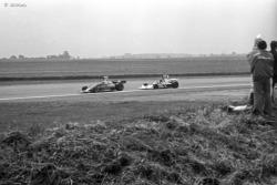 Niki Lauda with James Hunt Montage