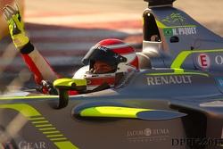 Nelson Piquet Jr. Winner of the First Long Beach e prix