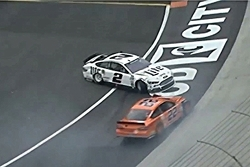 Keselowski and Logano crash