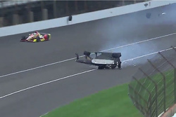 James Hinchcliffe crash