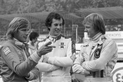 James Hunt, Tony Brise and Ronnie Peterson